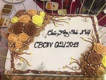 Công ty Ngôi Sao mừng sinh nhật quý 2 cho CBCNV
