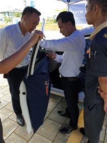 Chương trình kiểm tra và đánh giá chất lượng phim cách nhiệt ô tô tại Hyundai Quảng Bình