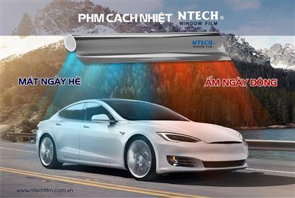 Dán phim cách nhiệt cho ô tô có tác dụng gì?