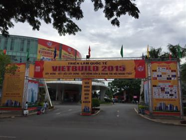 NGÔI SAO THAM GIA TRIỂN LÃM VIETBUILD 2015