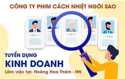 TUYỂN DỤNG CÁN BỘ PHÒNG KINH DOANH